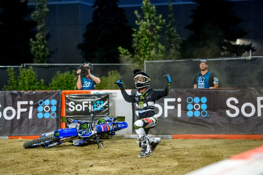 MONSTER ENERGY'S JARRYD MCNEIL TAKES GOLD IN MOTO X STEP UP